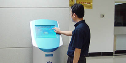 Wired Queuing Machine with Touch Screen